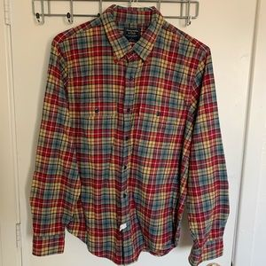 Abercrombie & Fitch Flannel Shirt Size Large